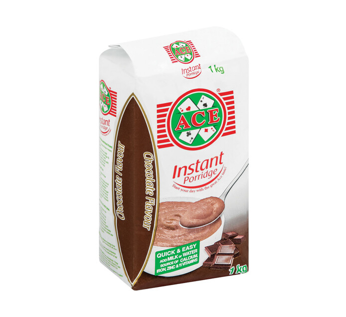 ACE Instant Porridge Chocolate (1 x 1kg)