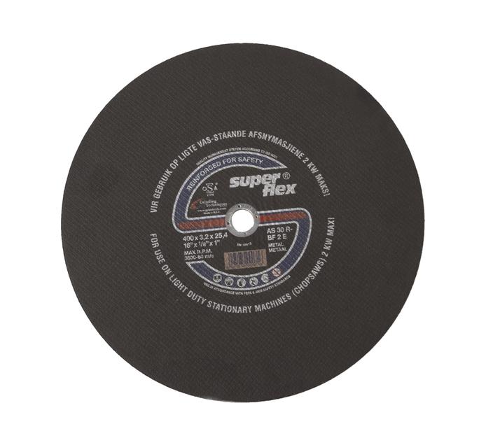 SUPERFLEX STEEL CUTTING DISC 400MM