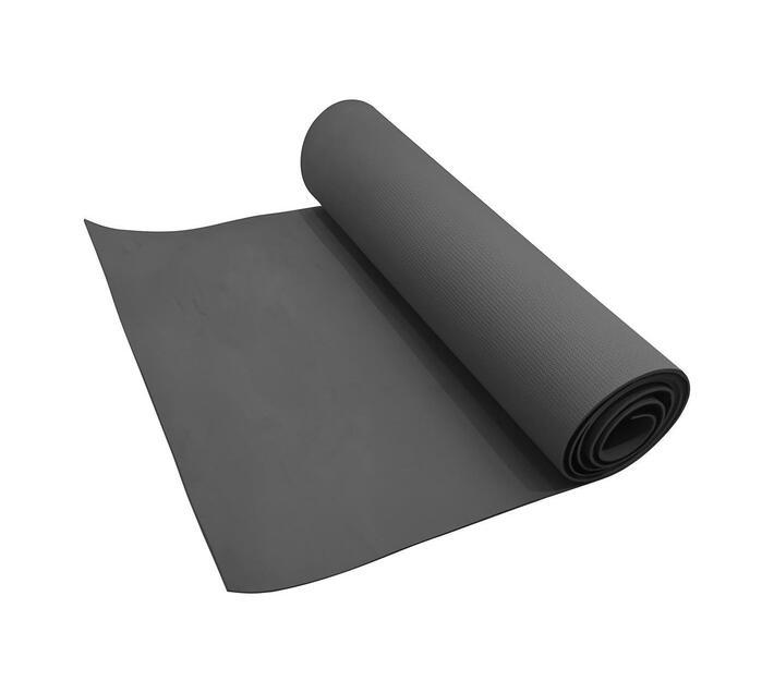 Volkano Active Non-Slip, Reversible PVC Yoga Mat in Gunmetal Grey