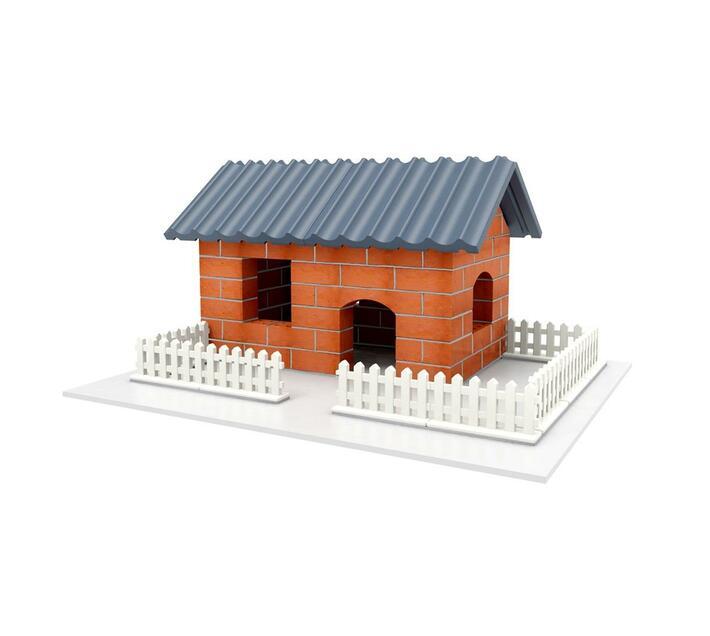 BrIQs - Dream Architect Real Brick House Building Set - 128pc Set
