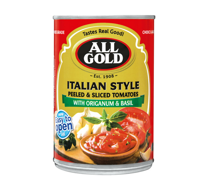 All Gold Italian Sytle Tomato (12 x 410g)
