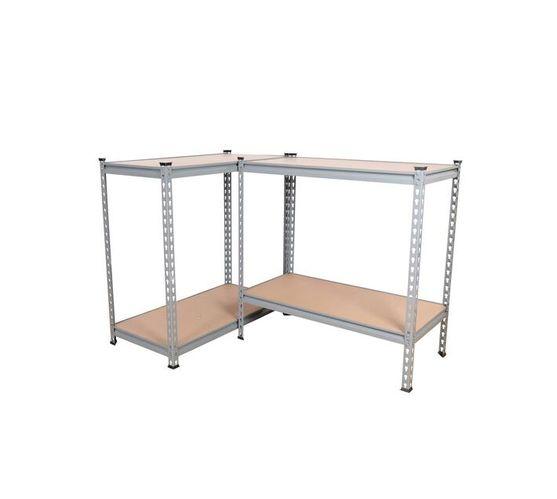 Shelving Unit - 5 Tier - Grey - 900 x 450 x 1800mm