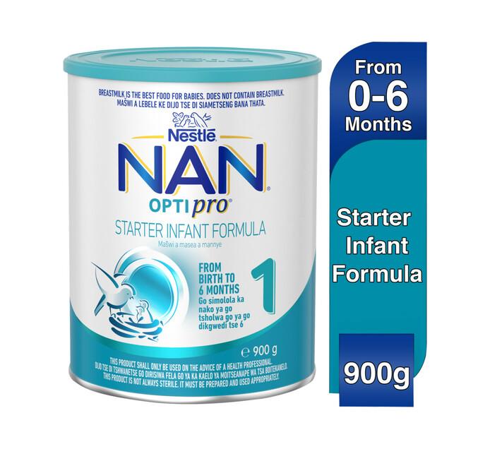 Nestle Nan Infant Milk Formula 1 Start (1 x 900g)