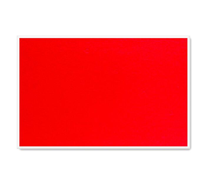 PARROT PRODUCTS Info Board (Plastic Frame, 600*450mm, Red)