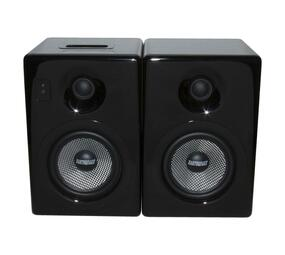 Earthquake IQUAKE52B Wireless Streaming Bluetooth Hi Res Media 5,000W Peak Power Amplified Stereo Wired Speakers per Pair with Wireless Remote