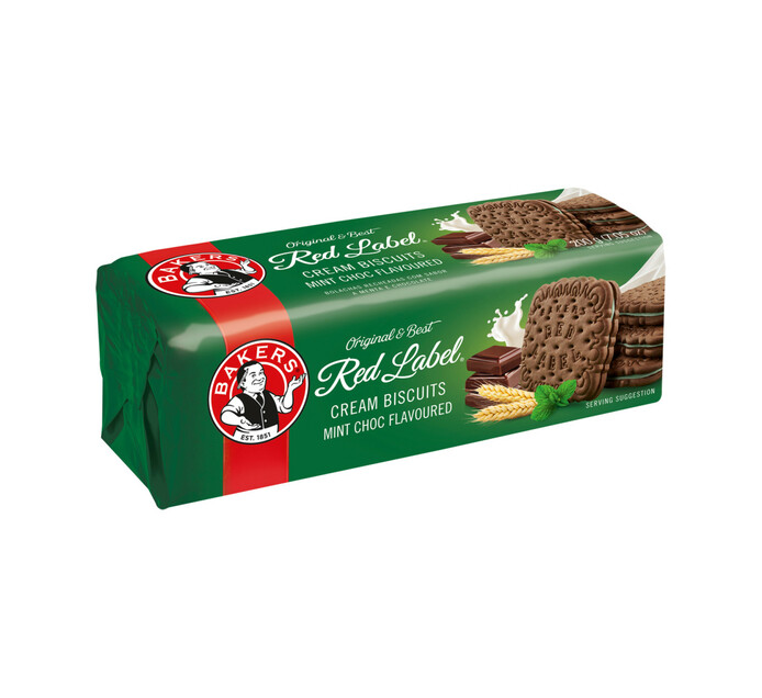 Bakers Red Label Biscuits Mint Creams (1 x 200g)