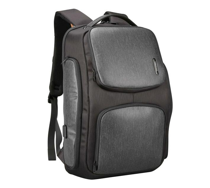Kingsons Raptor Smart Laptop Backpack - Black/Grey