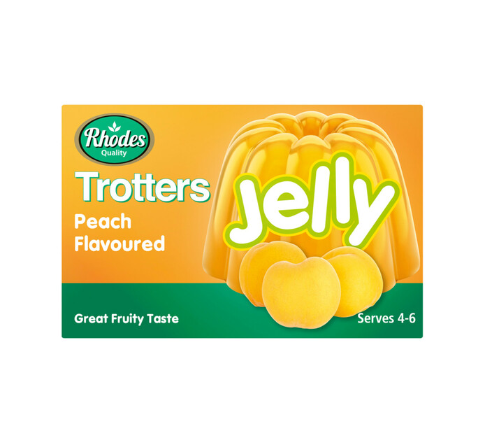 Trotters Jelly Peach (1 x 40g)