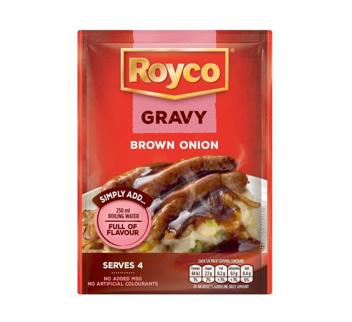 Royco Packet Gravies Brown Onion (1 x 32g)
