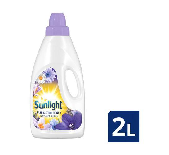 Sunlight Fabric Softener Lavender Smiles (8 x 2L)