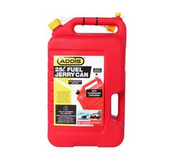 ADDIS FUEL JERRY CAN 25L RED