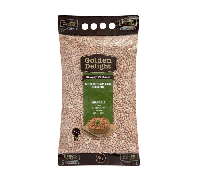 Golden Delight Red Speckled Beans (1 x 5kg)
