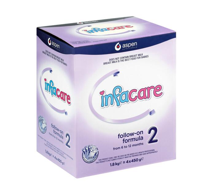 Infacare 2 Infant Milk Formula Carton (1 x 1.8kg)