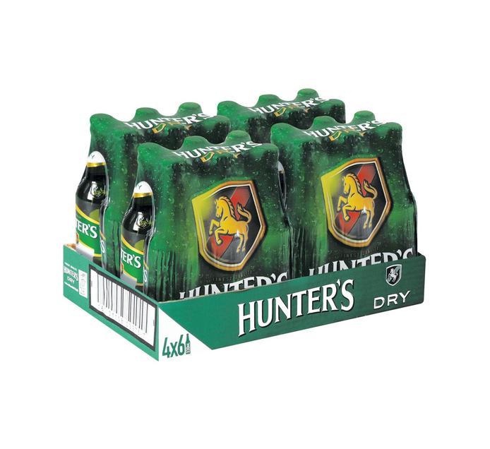 Hunters Dry Cider NRBs (24 x 330 ml)