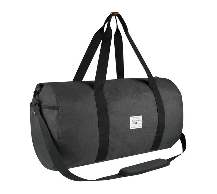 SupaNova Kate Series 56cm Duffel Bag in Charcoal with Adjustable Shoulder Strap
