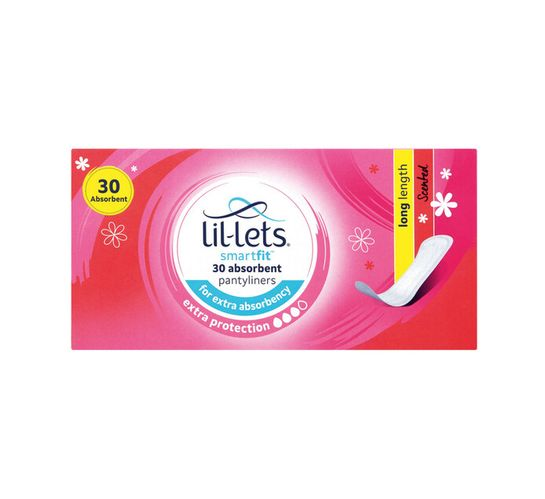 Lil-lets Pantyliners Long Scented (1 x 30's)