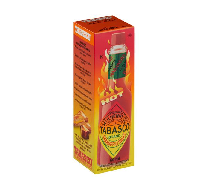 Tabasco Habanero Sauce (1 x 60ml)