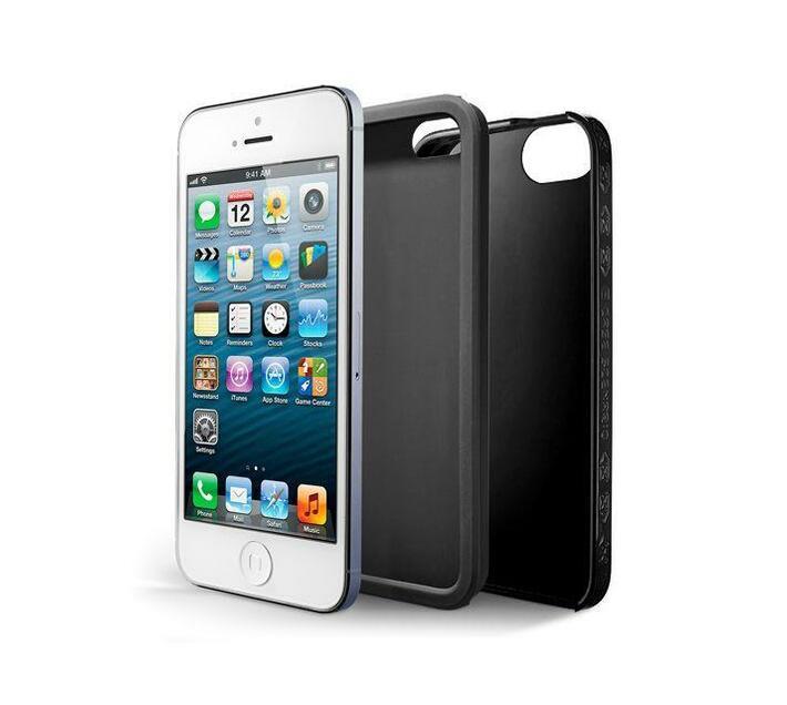 Case Scenario Skin & Bone Protective iPhone 5/5S/SE Cover (Black)