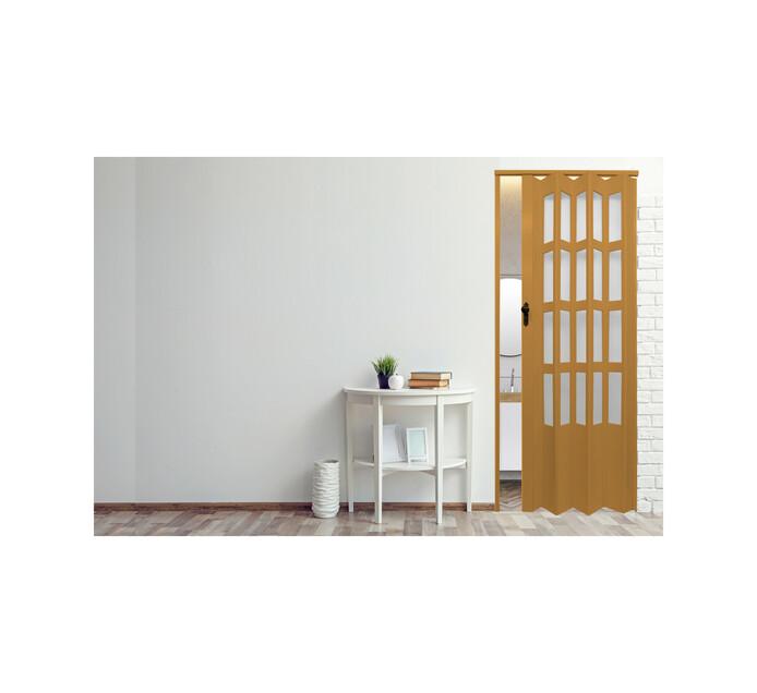 Deluxe 2030 mm x 820 mm Folding Door with Glass Panels