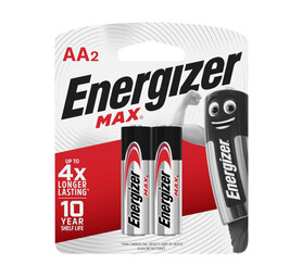 ENERGIZER AA  BATTERIES 2 PACK