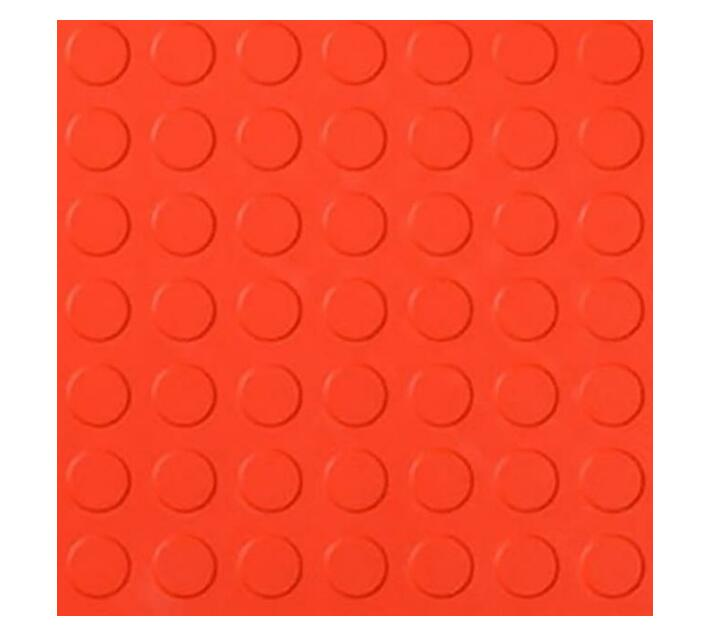 Red Stud Rubber Flooring 7.5 m² ( 1.5 m x 5 mm x 2.7 mm thick )