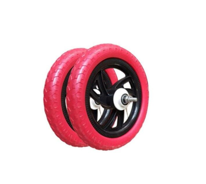 Replacement EVA Tubeless Bicycle Tyre - 12 Inch Red and Black