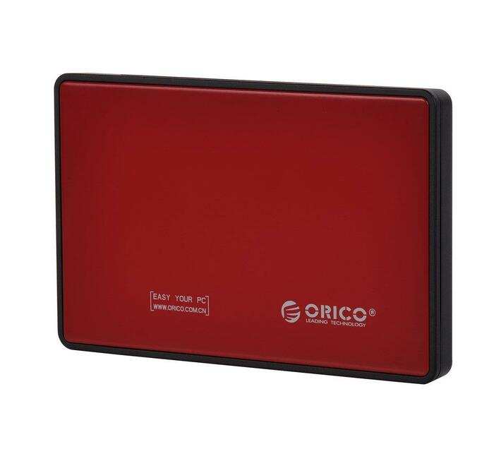 Orico 2.5 Usb3.0 External Hdd Enclosure Red