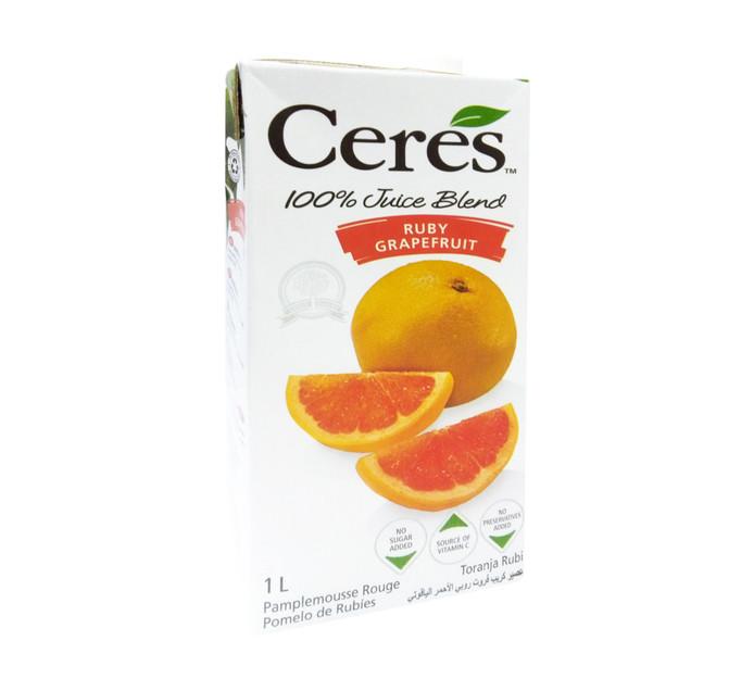 Ceres Fruit Juice Ruby Grapefruit (12 x 1L)