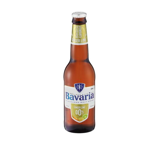 Bavaria Non-Alcoholic Ginger Lime NRBs (6 x 330 ml)