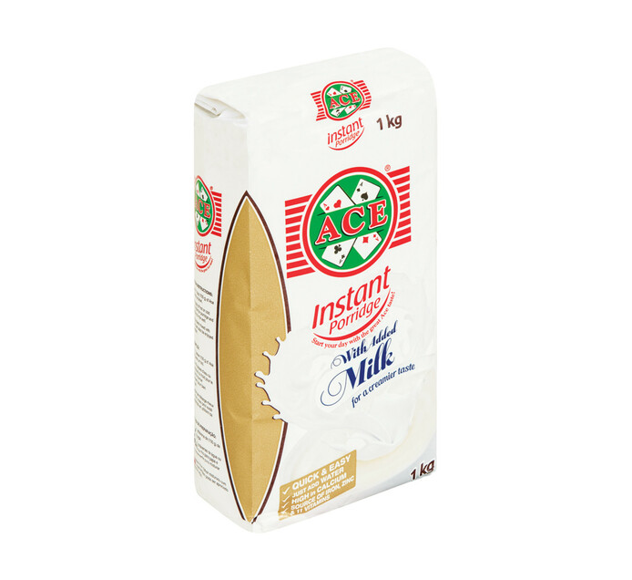 ACE Instant Porridge With Milk (1 x 1kg)