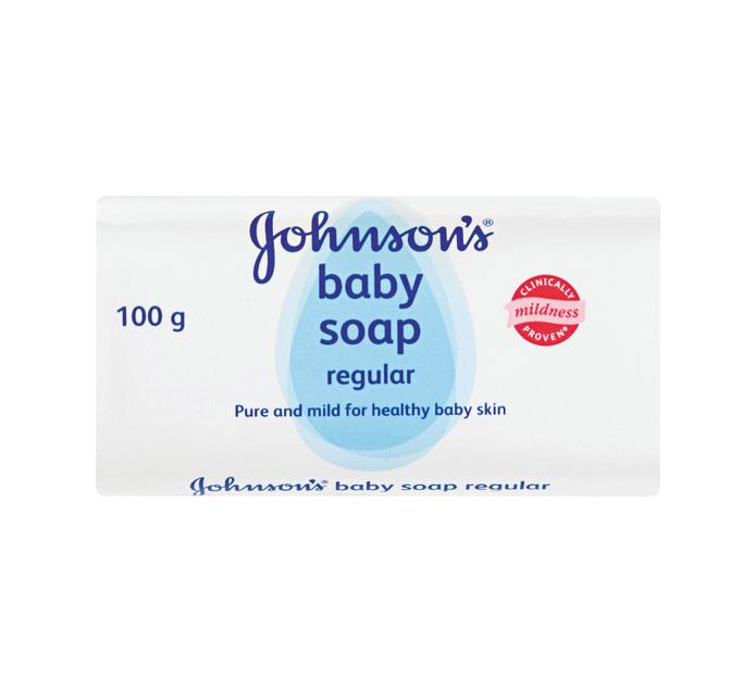 JOHNSON'S Baby Soap Regular (12 x 100g)