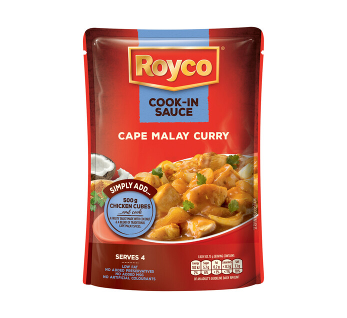 Royco Cook in Sauce Cape Malay Curry (1 x 415g)