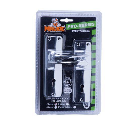 Mackie 2-Lever Mortice Lock Set
