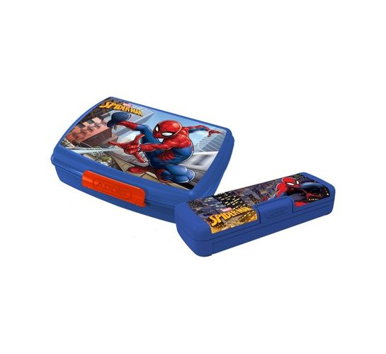 Spiderman Lunch Box and Pencil Case