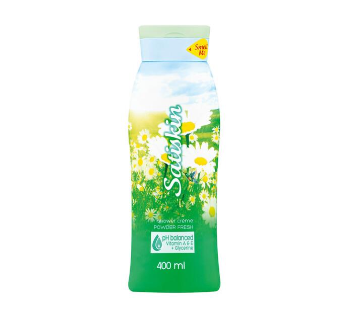 Satiskin Shower Creme Powder Fresh (1 x 400ml)