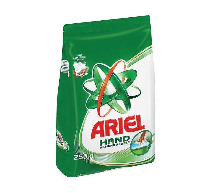 Ariel Hand Washing Powder Original (6 x 250g)