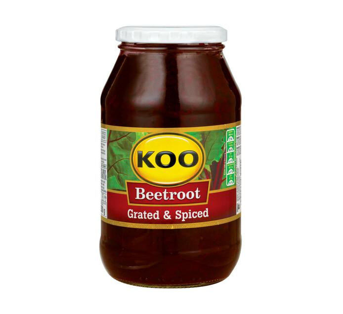 KOO Beetroot Grated Jars (1  x 780g)