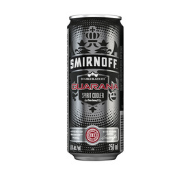 SMIRNOFF Ice Double Black with Guarana (24 x 250ml)