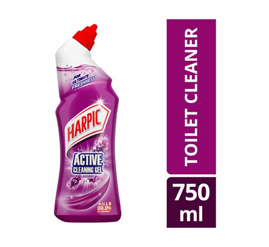 Harpic Active Cleaning Gel Lavender (1 x 750ml)