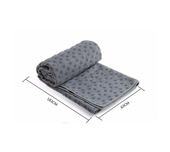 Wonder Gal Microfibre Bathroom Bath Mat - Grey