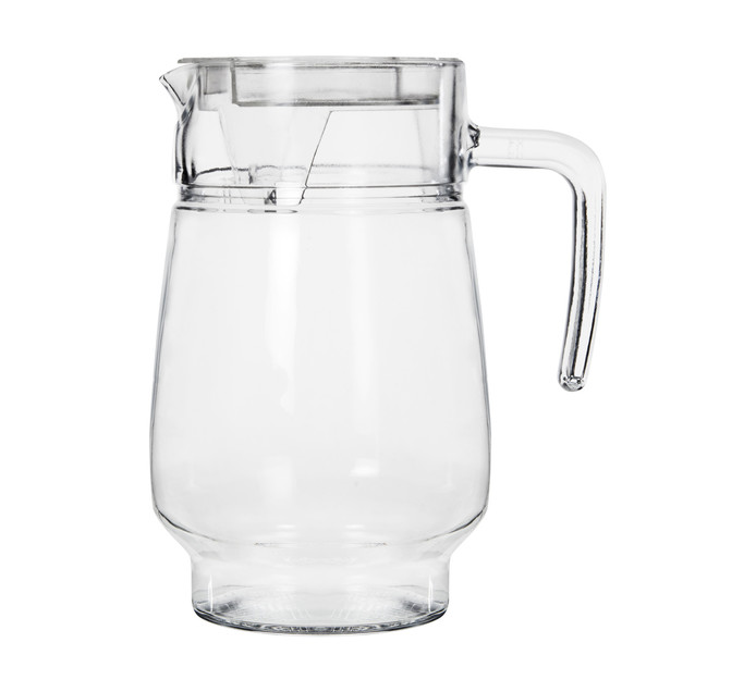 Regent 1.3 l Glass Water Jug with Clear Lid