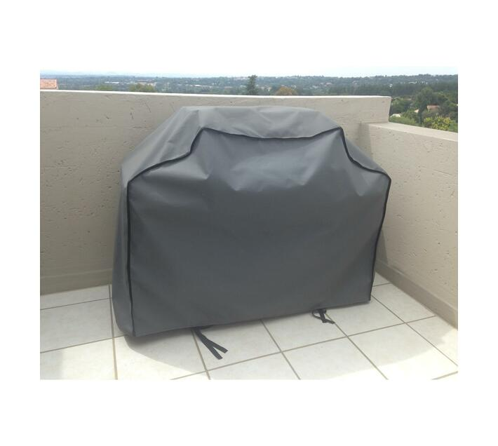 Patio Solution CoversGas Braai Cover Large - Charcoal Ripstop UV 320grm