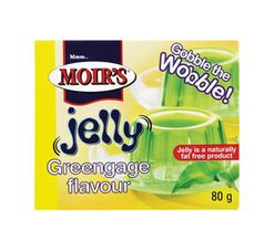Moir's Jelly Greengage (1 x 80g)