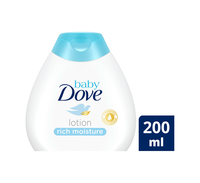 Dove Baby Lotion Rich Moisture (1 x 200ml)