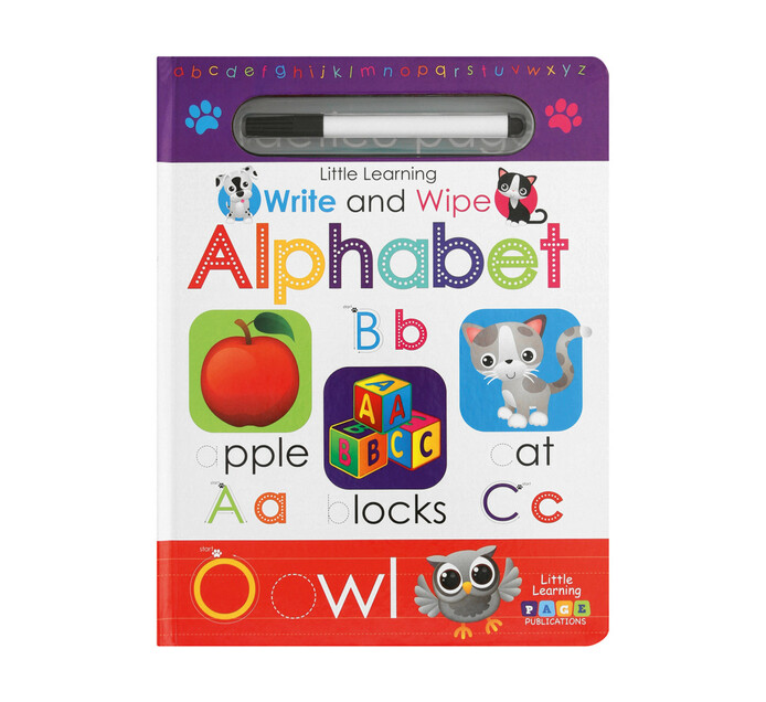 Write and Wipe Alphabet
