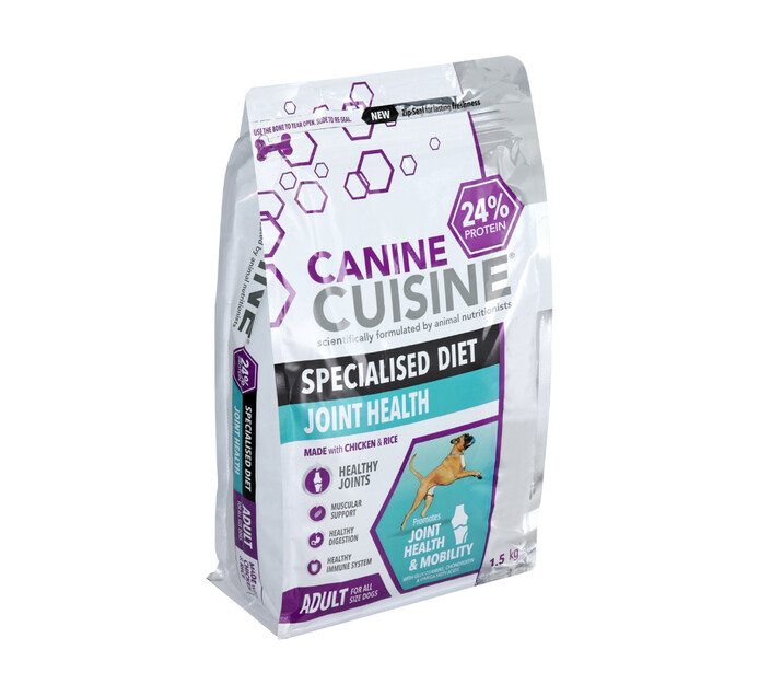 Canine Cuisine Adult Joint Health Dry Dog Food (1 x 1.5kg)