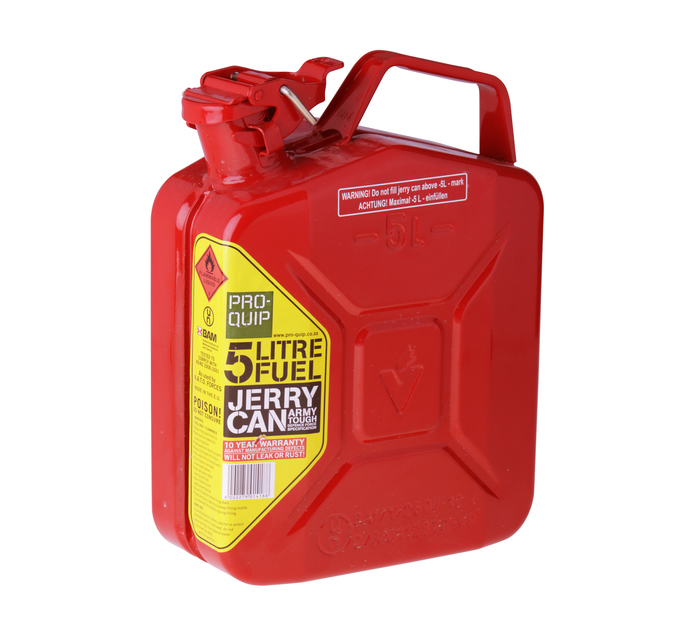 PRO QUIP JERRY CAN FUEL 5L RED