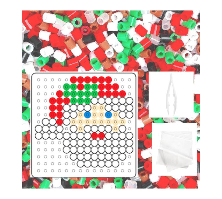 JKA - Iron On Bead Craft Toy - Double Combo Kit - Christmas Friends