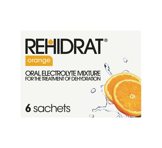 Rehidrat Hydration Powder Orange (36 x 6's)