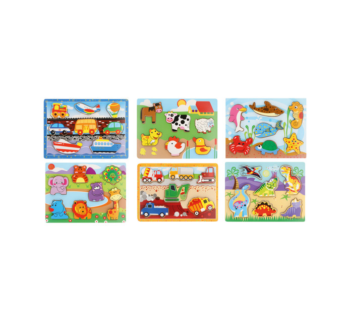 6 piece Chunky Puzzle